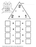 Christmas Multiplication & Division Family Number 2