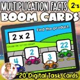 2's Multiplication Facts BOOM Cards | Digital Task Cards
