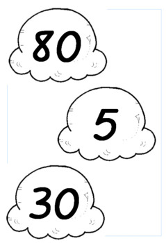 5's Skip Counting Pattern Ice-cream Cones