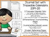 Journal Set with Traceable Calendars {Templates & Model Lesson}