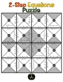 2-step Equations Puzzle