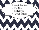2 week test review