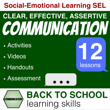 Teach students HOW to communicate Effectively/Assertively (21st century skills)