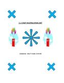 2 x 2 Digit Multiplication Worksheet Collection