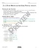 2 x 2 Digit Partial Product Multiplication Math Video and Worksheet