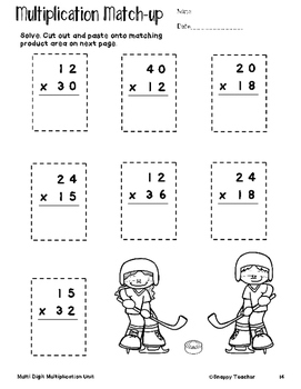 2x2 multiplication worksheets
