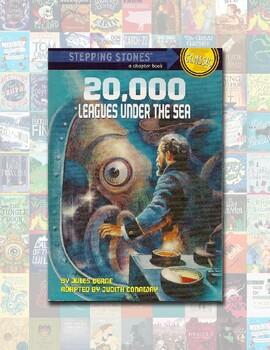 Literature Book Quiz/Test – 20,000 Leagues Under the Sea