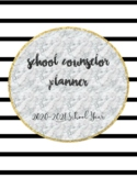 20-21 Complete School Counselor Planner (Black, White, & M