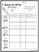 5 Ways to Write Blends Worksheets. 20 pages. Kindergarten-1st Grade ELA.
