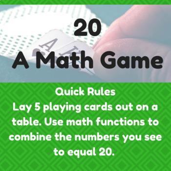 20 - A Math Game