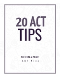 20 ACT Tips