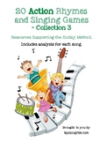 20 Action Singing Games for Teaching with the Kodály Metho