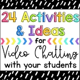 Virtual Classroom Games Activities & Ideas  for Zoom Teams Meets