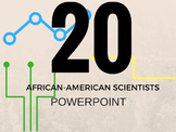 20 African-American Scientists