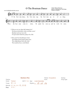 20 African American Songs for Teaching with the Kodaly Method