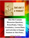 Ain't I A Woman by Sojourner Truth Teacher Supplemental Re