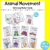 animal movement cards - Set 1