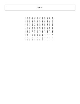 20 Answer Cosmos: A Spacetime Odyssey Episode 12 Word Search with Key