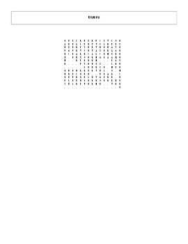 20 Answer Space in Science Fiction Literature and Film Word Search with Key