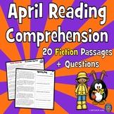 20 April Reading Comprehension Passages: Spring Reading Comprehension
