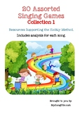 20 Assorted Singing Games Collection 1