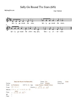 20 Assorted Singing Games Collection 2 Resources Supporting the Kodály Method