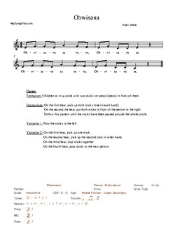 20 Assorted Singing Games Collection 3 Resources Supporting the Kodály Method