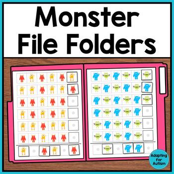 File Folder Activities: Patterning, Sorting, Ordering, Matching (Autism)