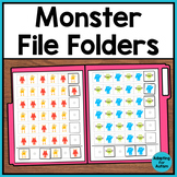 File Folder Activities for Special Education and Autism -