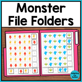 Autism File Folder Activities: Patterning, Sorting, Orderi