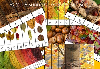 20 Autumn leaves themed puzzles