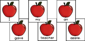 20 Back to School Scrambled Sentences (Part One- Classroom edition)