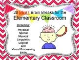 20 Best Brain Breaks for the Elementary Classroom