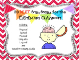 20 Best Brain Breaks for the Elementary Classroom
