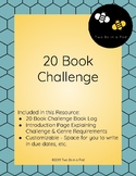 20 Book Challenge Reading Log