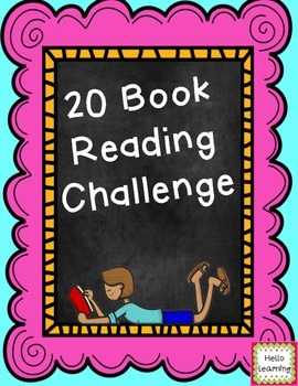 20 Book Reading Challenge- FREE