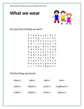 20 British English Word Searches