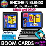 20 CARD ENDING N BLENDS -NT, -ND, -NG and -NK DRAG and DRO