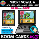 20 CARD SHORT VOWEL A -ACK, -ALL, -AMP,-ASH, -ANT, -AND BO