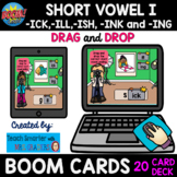 20 CARD SHORT VOWEL I -ICK, -ILL, -ISH, -ING and -INK DRAG