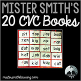 20 CVC Word Family Books