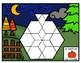 20 Casse-têtes pour faire avec des blocs logiques - Thème d'automne /d'Halloween