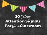 20 Catchy Attention Signals
