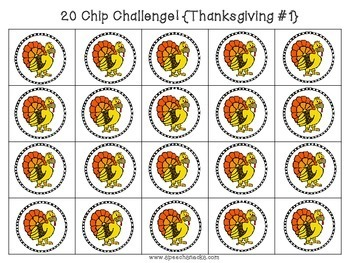 20 Chip Challenge {{Complete Packet}}