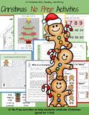 3rd Grade Math: 3rd Grade Reading- Christmas No Prep Activ