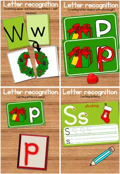 20 Christmas literacy center activities