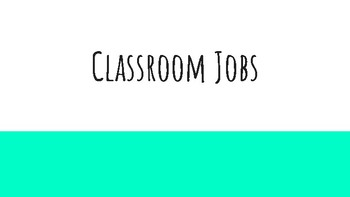 20 Classroom Jobs