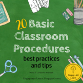 20 Basic Classroom Procedures and Routines (best practices and tips)