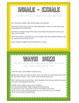 Teambuilding Task Cards for the Beginning of the Year