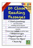 No-Prep Close Reading Passages ~ Nonfiction